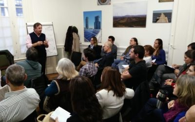 Gran convocatoria: más de 30 periodistas se formaron en energías renovables en un curso organizado por CADER