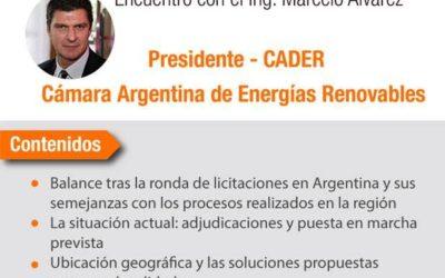 CADER participará en un importante congreso sobre energías renovables