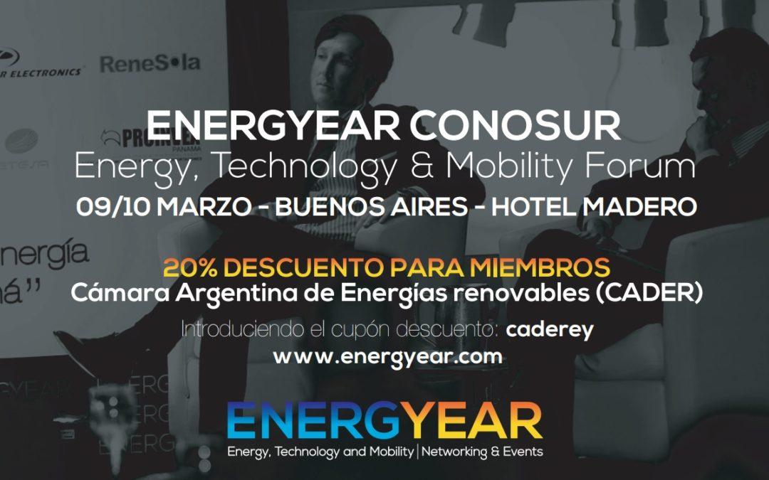 ENERGYEAR CONOSUR 2017, Buenos Aires