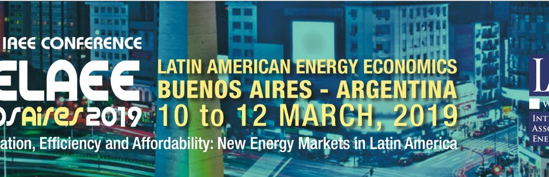 """Llega a la Argentina el """"7° EncuentroLatinoamericano de Economía de la Energía (7ELAEE)"""""""
