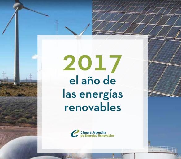 Informe «Anuario 2017», documento de análisis del mercado de las energías renovables