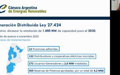 CADER participó del relanzamiento de la Red Iberoamericana de Energías Renovables – RedREN