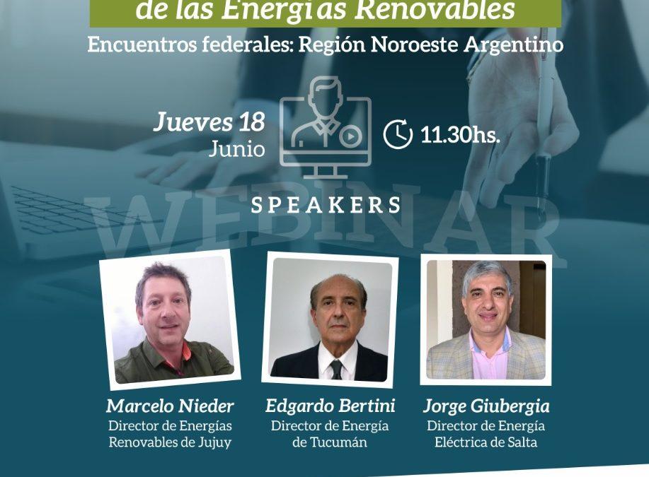 Webinar de CADER mostrará oportunidades para las energías renovables en Tucumán, Salta y Jujuy