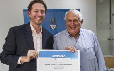 """Licitación """"Ronda 2"""": se firmaron más contratos de energías renovables"""