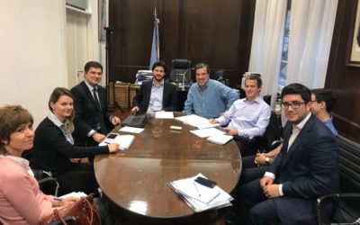 Representantes de CADER se reunieron con los Ministerios de la Producción, Energía y Trabajo