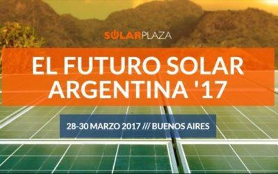 """Descuentos especiales para socios interesados en el congreso """"El Futuro Solar Argentina"""""""