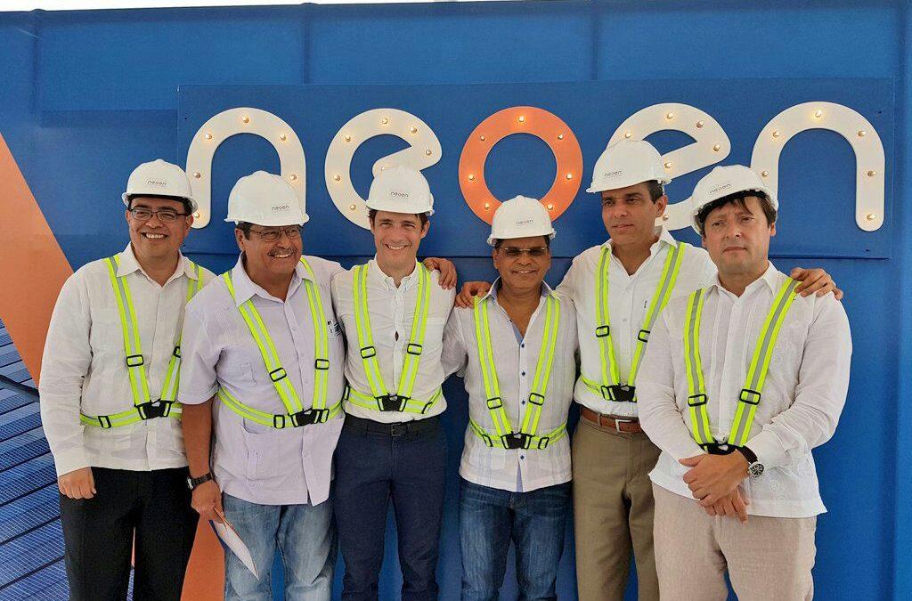 Bienvenida Neoen! Presentamos nuevo socio de CADER, desarrollador de energía renovable
