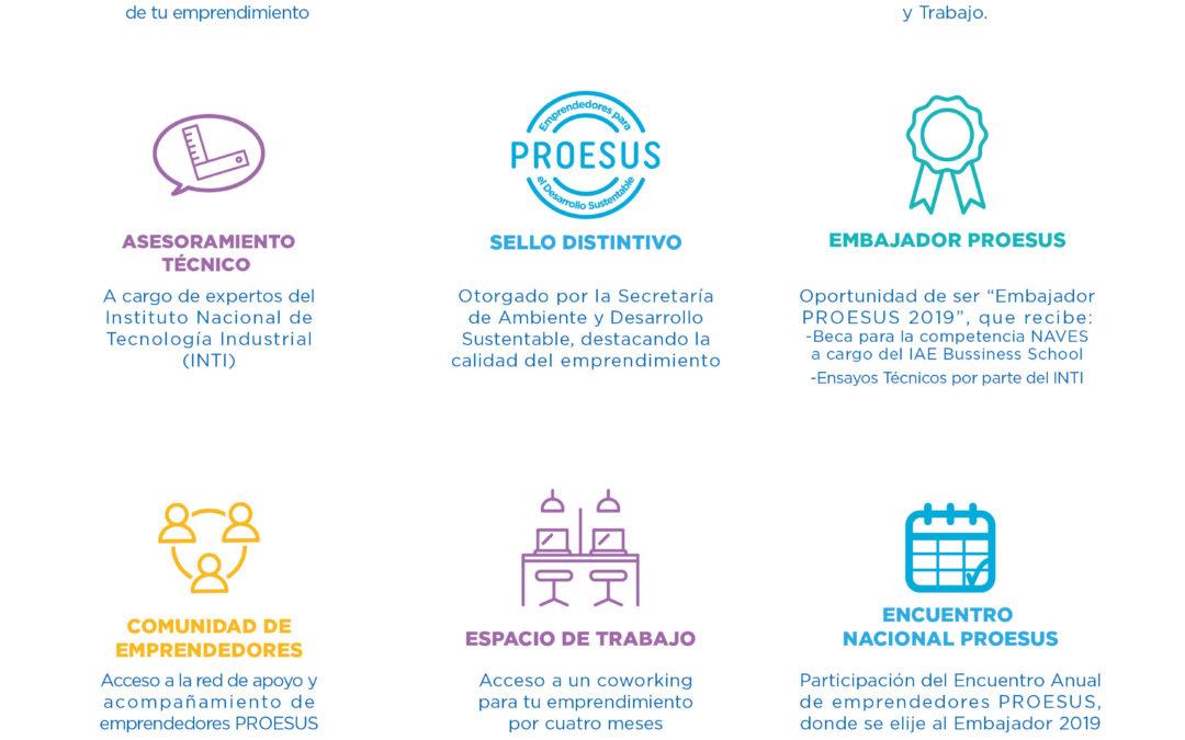"""Importantes premios a emprendedores: abierta la convocatoria al """"Tercer Concurso Nacional PROESUS"""""""