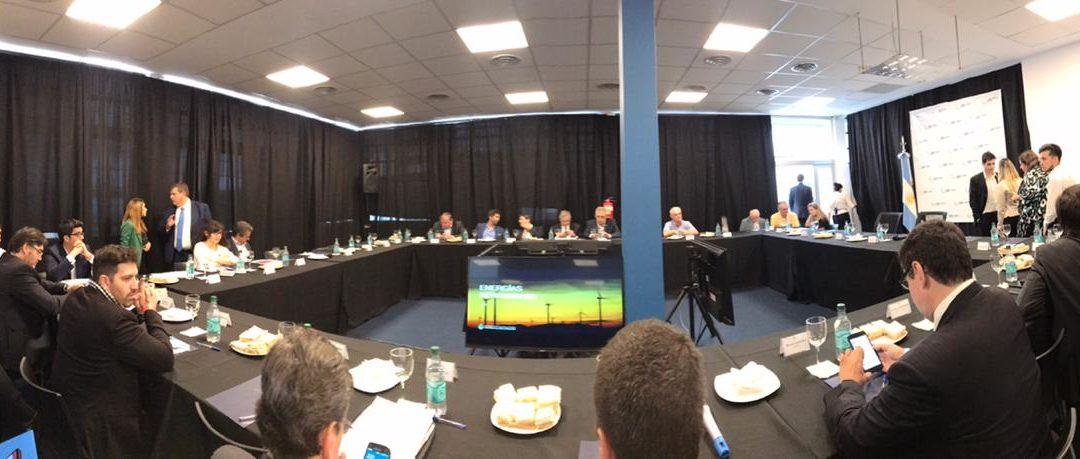 Los temas que planteó CADER en la reunión multisectorial de las energías renovables