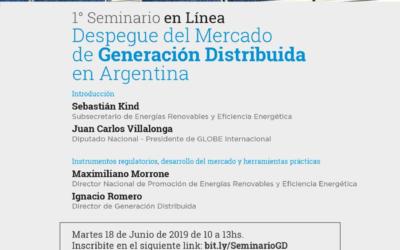 Seminario online: «Despegue del Mercado de Generación Distribuida en Argentina»