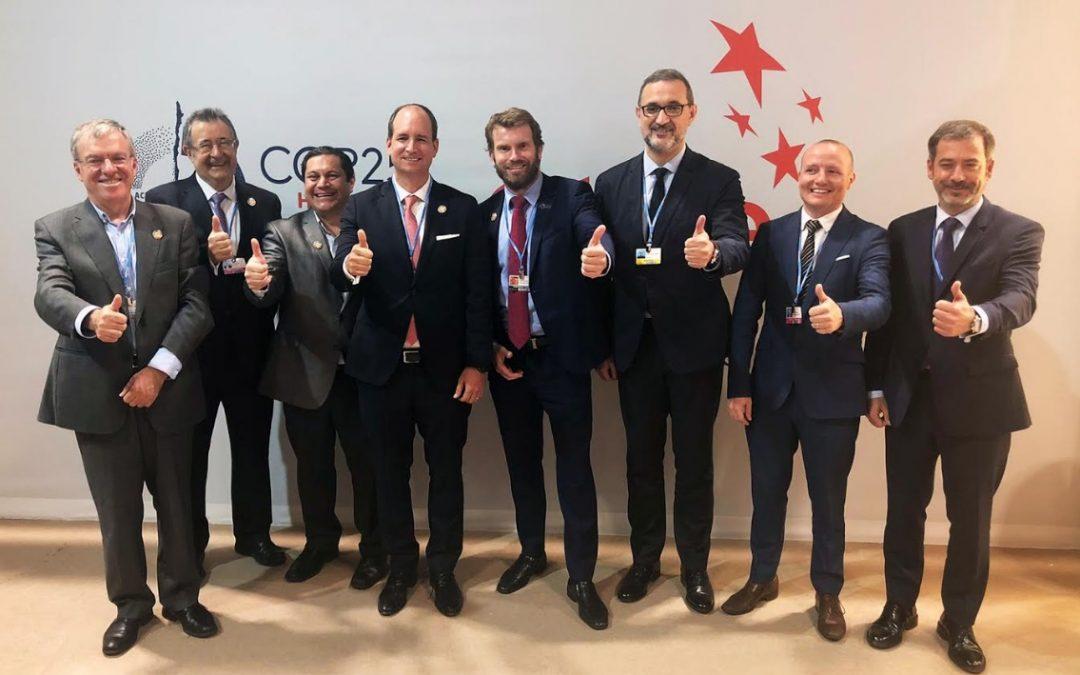 Acuerdo iberoamericano en la COP25: CADER se compromete a promover el desarrollo de energías renovables en Argentina