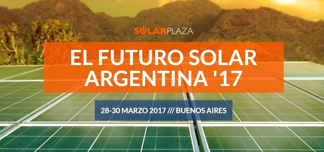 Evento Internacional – Solarplaza El Futuro Solar Argentina