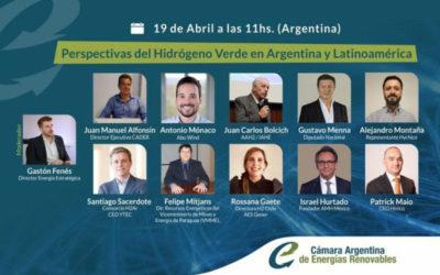 """Abierta inscripción al evento """"Perspectivas del hidrógeno verde en Argentina y Latinoamérica"""""""